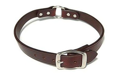 working dogs leather dog collar