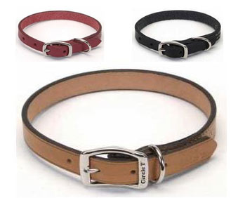 Circle T Leather Dog Collars