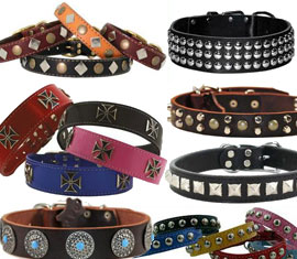 studded collars for dogs